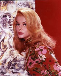 Ann-Margret- I need a wig this colour and style.