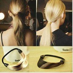 Wholesales Wig Hair Bands Hair Ponytail Holder Hair Accessories 35pcs/lot Free Shipping