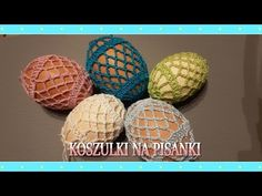 Koszulka na pisankę - jajka wielkanocne - YouTube Easter Crochet, Special People, Yarn Crafts, Bunny, Eggs, Kawaii, Gifts, Youtube, Easter