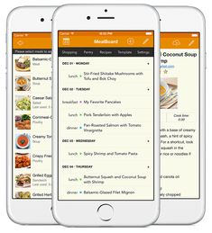 Meal Planning: MealBoard Combines Recipe Management, Meal Planning,  Groceries And Pantry Management Into