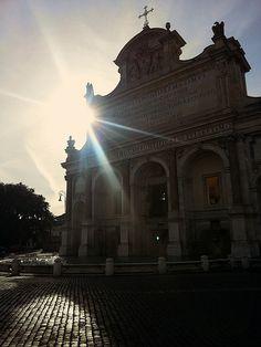 Roma, fontanone del Gianicolo ♠    da bob_52