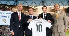Nueva equipacion JAMES Real Madrid 2014-2015