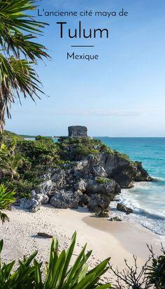 """Découvrez Tulum, la destination """"éco-chic"""" du Yucatán, ses plages paradisiaques, son superbe site maya et la baignade dans un cénote.  #voyage #mexique #yucatan #tulum #maya #blogvoyage #roadtrip #backpack"""