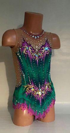 Gym Leotards, Rhythmic Gymnastics Leotards, Tutu, Blue Leotard, Figure Skating Dresses, Ballroom Dress, Dance Outfits, Dance Costumes, Costume Design