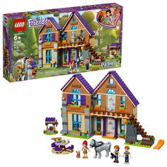 Buy LEGO Friends - Mia's House at Mighty Ape NZ. Relax in the forest at LEGO® Friends Mia's House! Meet Mia and her family at their beautiful LEGO® Friends house in the forest. Lego Technic, Lego Duplo, Mini Doll House, Toy House, Lego House, Lego Disney, Disney Toys, Lego City, Disney Frozen