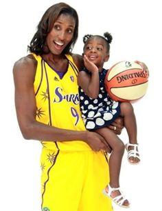Former WNBA player and super star Lisa Leslie