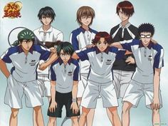 Аниме обои The Prince of Tennis: The National Tournament / Принц тенниса OVA-1 38794