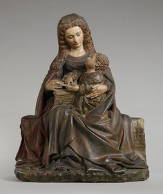 Attributed to Claus de Werve - Virgin and Child - ca. 1420