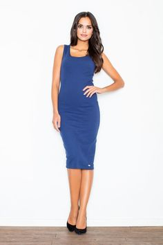 Looking for Bodycon Dresses? Call off the search with our Navy Bodycon Pencil Midi Dress. Shop unique fashion at SilkFred Day Dresses, Blue Dresses, Evening Dresses, Dresses For Work, Midi Dresses, Simple Elegant Dresses, Fashion Deals, Dress First, Unique Fashion