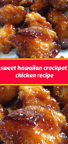 Sweet Hawaiian Crockpot Chicken Recipe Lose this delicious rice . - Sweet Hawaiian Crockpot Chicken Recipe Don& lose this delicious recipe Save it now - Crockpot Dishes, Crock Pot Cooking, Crock Pots, Crockpot Ideas, Cooking Oil, Crockpot Chicken Casserole, Cooking Bacon, Meat Recipes, Slow Cooker Recipes