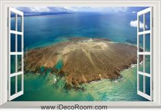 3D The Archipelago Of Abrolhos The First Marine National Park Of Brazil window wall sticker art decal IDCCH-LS-000506