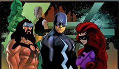 The Inhumans in NEW AVENGERS
