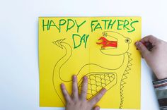 Made by Joel » DIY Animated Father's Day Dragon Card
