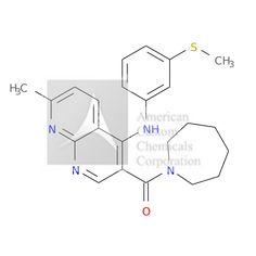 azepan-1-yl-[7-methyl-4-(3-methylsulfanylanilino)-1,8-naphthyridin-3-yl]methanone is now  available at ACC Corporation