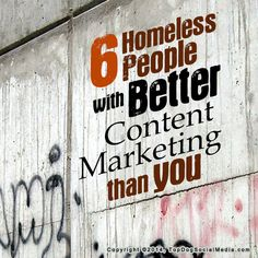 6 Homeless People With Better Content Marketing Than You (btw they are going to donate 25 cents for every share of this article to Raising The Roof, a charity that provides long-term solutions for the homeless. Marketing Approach, Content Marketing, Internet Marketing, Digital Marketing, Media Campaign, Sales Strategy, Homeless People, February 14, Helping The Homeless