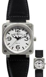 BR 01-92 White Steel Bell & Ross BR 01-92 acero automatico