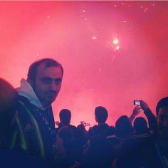 Kutlamalar başladı sampiyon fenerbahce  Sukru saracoglu stadyumu