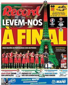 Record Cristiano Ronaldo, Portugal, We Are The Champions, Victorious, Euro, Championship Football