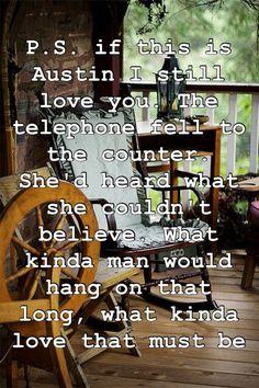 Austin Blake Shelton... love that song!!! <3