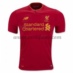 Liverpool Fotbalové Dresy 2016-17 Domáci Dres