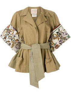 Erika Cavallini Floral Sleeve Jacket - Купить в Интернет Магазине в Москве | Цены, Фото.