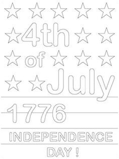 4th of July Coloring Pages - Mr Printables