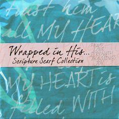 Wrapped in His Word Packaging Love Scriptures, Joyful, Blessed, Packaging, My Style, Words, Ideas, Wrapping, Horse
