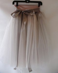 There never can be enough tulle - love this skirt