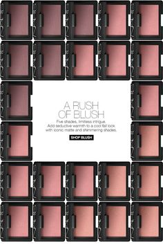 A RUSH OF BLUSH