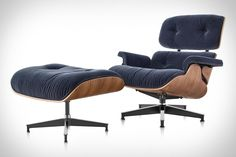 Few pieces of furniture are as iconic as Charles and Ray Eames' lounger. First produced in 1956, the chair is notoriously known for its wood shell and leather cushions. While the design remains the same, the mid-century classic is getting...