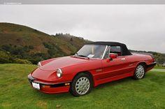 '86 Alfa Romeo Spider Quadrifoglio.  What once was.....