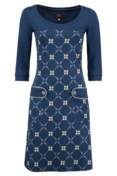 Dress Retro Go Royal Grey -Tante Betsy.com