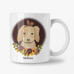 Cute Dogs Mug, Personalized Dog Lover Gift Ideas, Girl Dog Mug, Gift for Daughter Dog Lover Gifts, Gift For Lover, Dog Lovers, Special Birthday Gifts, Birthday Gifts For Her, Toddler Boy Gifts, Cute Valentines Day Gifts, Girl And Dog, Christian Gifts