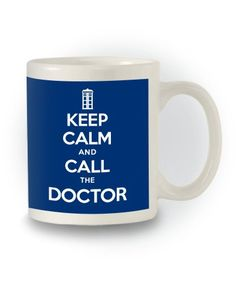 Doctor Who Sci-Fi 'Keep Calm and Call the Doctor' Mug Mad Hatters Tee Party http://www.amazon.co.uk/dp/B00O92W9LI/ref=cm_sw_r_pi_dp_-V.Pub14N5PR1