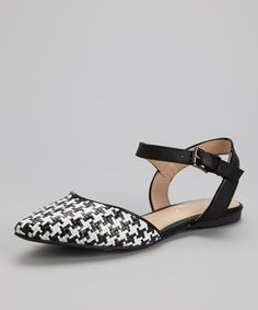 Another great find on #zulily! Black Jean Sandal by Mixx Shuz #zulilyfinds