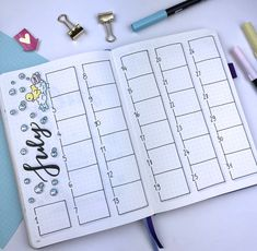 Plan With Me: My July Set Up in my Bullet Journal + Video Monthly Spread #planwithme #bulletjournal #bulletjournalsetup #bulletjournalplanning #bulletjournaldecoration #bulletjournalplanwithme #bulletjournalmonthlyplanning #bulletjournalmonthataglance #plannerdecoration #plannerdoodling #goalsetting #monthlygoals