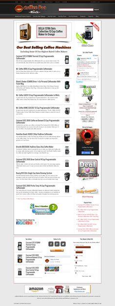 Coffee Maker Website For Sale