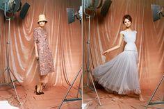 Glamorous vintage dresses by ulyana Sergeenko