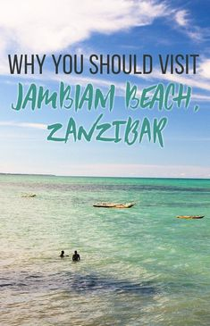 Visiting Zambiani Beach in Zanzibar, Tanzania - an island paradise that's off the beaten path and perfect for travelers who just want to relax