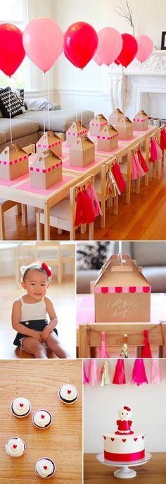 cute little girls bday party idea