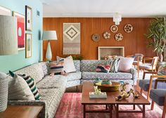 DOMINO:Peek Inside This Insanely Cool Mid-Century Modern Home Makeover