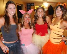 My Halloween costume for forever! Group Halloween Costumes, Tutu Costumes, Halloween Kostüm, Halloween Outfits, Costume Dress, Holidays Halloween, Winnie The Pooh Costume, Tiger Costume, Halloween Kleidung