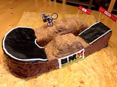 BMX Track Cake