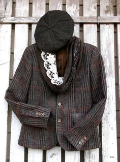 Vintage Tweed Jacket Vintage JG Hook Womens by happenstanceNwhimsy