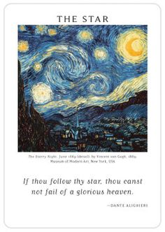 From the Art of Life Tarot.  Definitely a different kind of deck, the use of famous artwork really appeals to me.