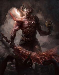 Ogre guardians of Xol Xiren