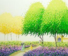 Яркие пейзажи Вьетнама на картинах Phan Thu Trang11