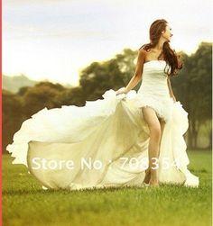 short front long back wedding dresses | ... -Front-Short-and-Long-Back-Detachable-Trailing-Wedding-Dress.jpg