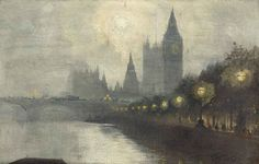 Westminster  -   George Hyde Pownall.  English (1876 - 1932)