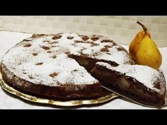 Torta pere e cioccolato